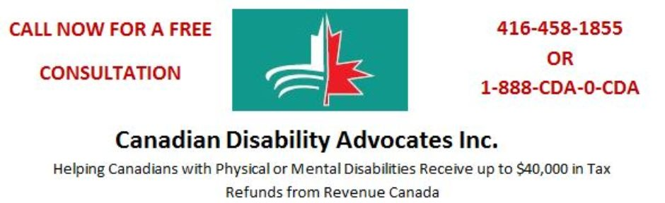 List of Eligible Disabilities | Canadian Disability Advocates Inc